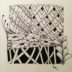 Day 21: Shameless Zentangle