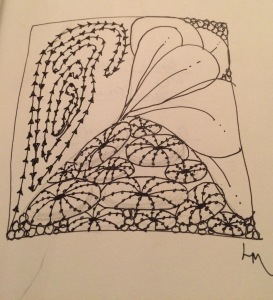 Thursday (Day 7) Zentangle