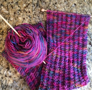 Day 38: Knitting work in progress (WIP) no. 3