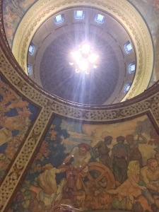 Day 41: Missouri State capital rotunda - site of the Missouri Arts Council awards ceremony