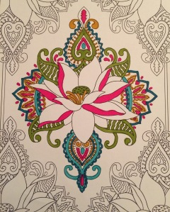 Day 56: Mendi coloring page