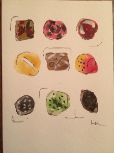 Day 58: Oh my...Christopher Elbow Artisanal Chocolate. Deliciously creative!