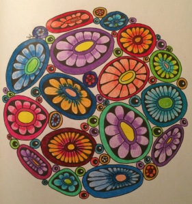 Day 59: Color Me Calm coloring book; Angela Porter, illustrator