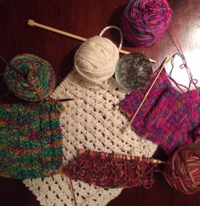 Day 60: So much knitting, so little time
