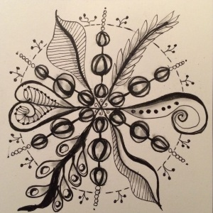 Day 68: An open Mandala...following the circular inspiration