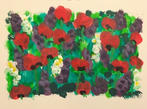 Day 88: Poppies and wild flowers