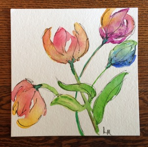 Day 121: watercolor
